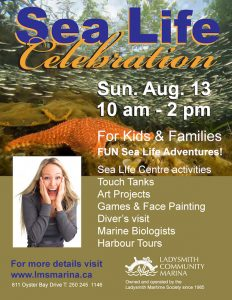 Sea Life Celebration @ Ladysmith Community Marina | Ladysmith | British Columbia | Canada